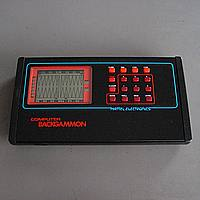 MATTEL Computer Backgammon